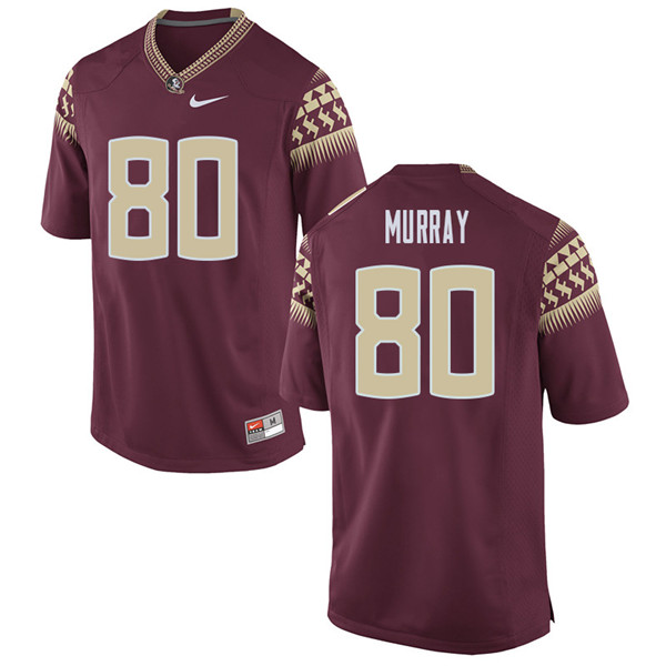 Men #80 Nyqwan Murray Florida State Seminoles College Football Jerseys Sale-Garent
