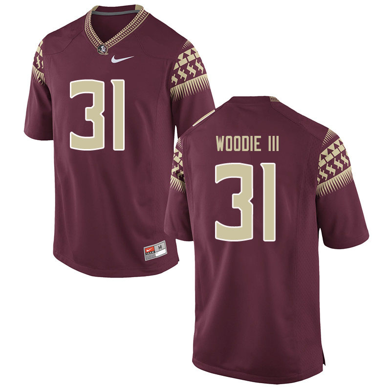 Men #31 Raymond Woodie III Florida State Seminoles College Football Jerseys Sale-Garent