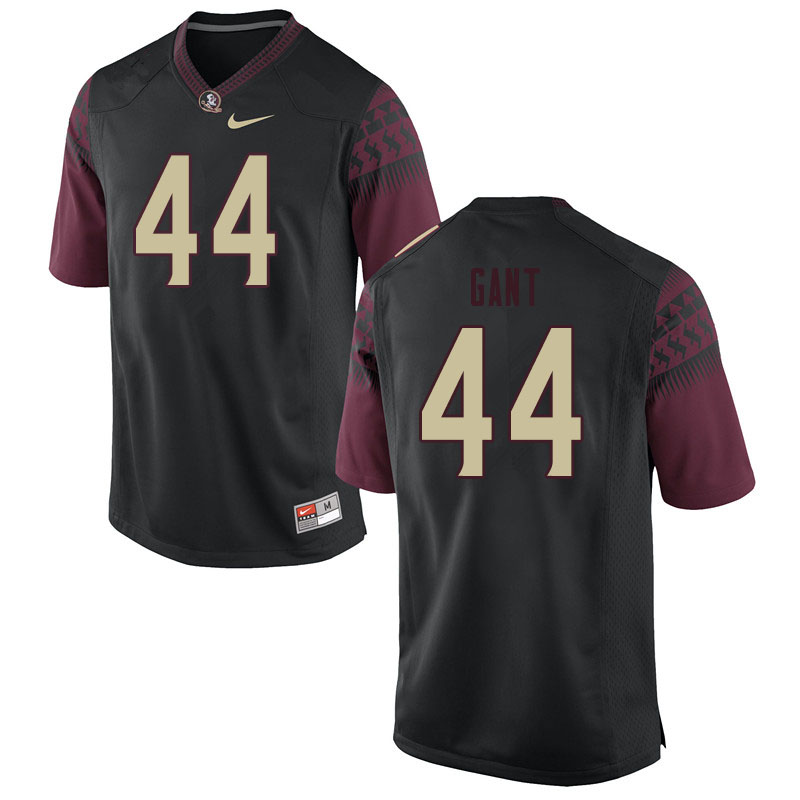 Men #44 Brendan Gant Florida State Seminoles College Football Jerseys Sale-Black