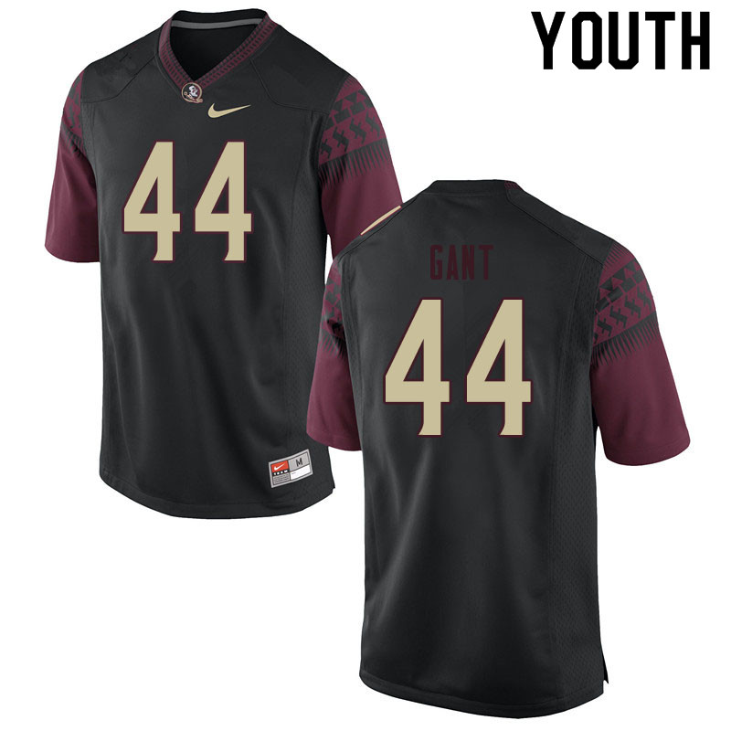 Youth #44 Brendan Gant Florida State Seminoles College Football Jerseys Sale-Black